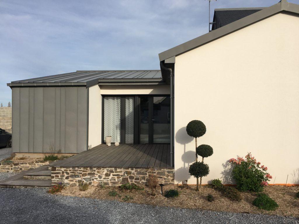Couverture et bardage en zinc - Ancenis Couverture